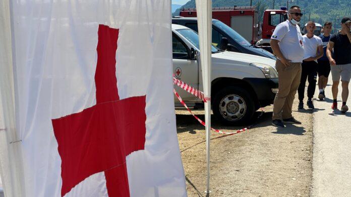 Ekipe Crvenog križa pružile više od 130 usluga prve pomoći tokom Marša mira