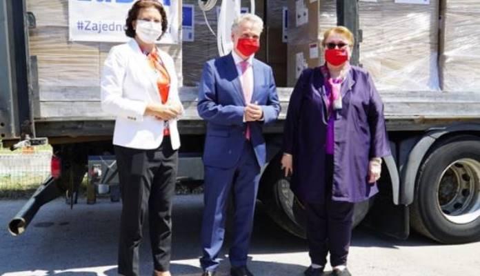 EU isporučila novu donaciju medicinske opreme za BiH