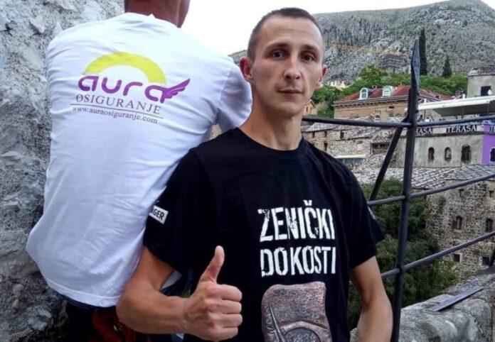 Zeničanin Mustafa Šarić i ove godine nastupa na takmičenju u skokovima u Mostaru