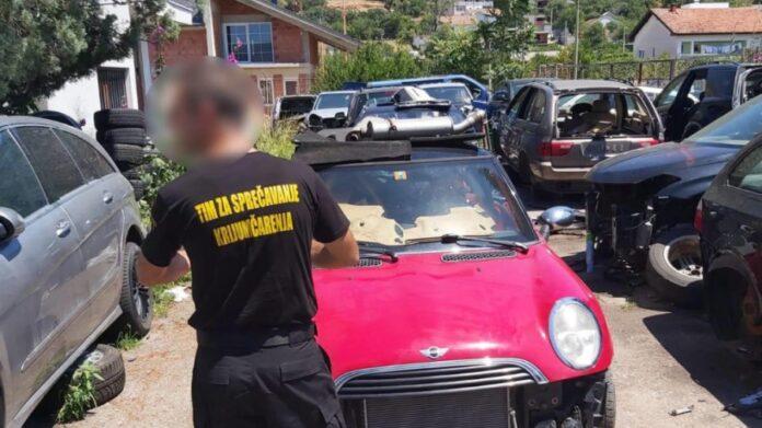 U Hercegovini u toku pretresi, oduzeto 125 rabljenih automobila