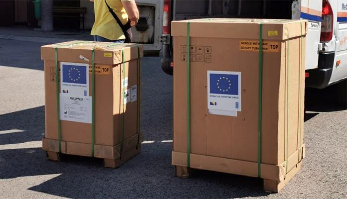 Kantonalna bolnica Zenica od EU dobila dva respiratora vrijednosti 88.000 KM