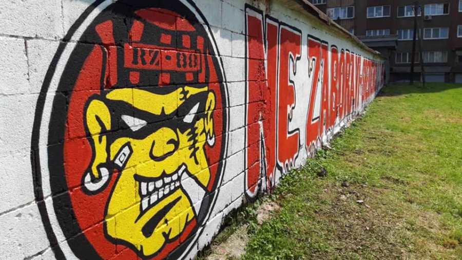 Robijaši osvježili grafite posvećene genocidu u Srebrenici (FOTO)