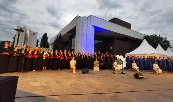 Srebrenički inferno izveden na Trgu Bosne i Hercegovine u Zenici