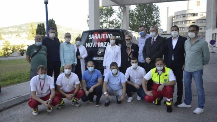 U Novi Pazar krenuli medicinski timovi iz Sarajeva i Tuzle