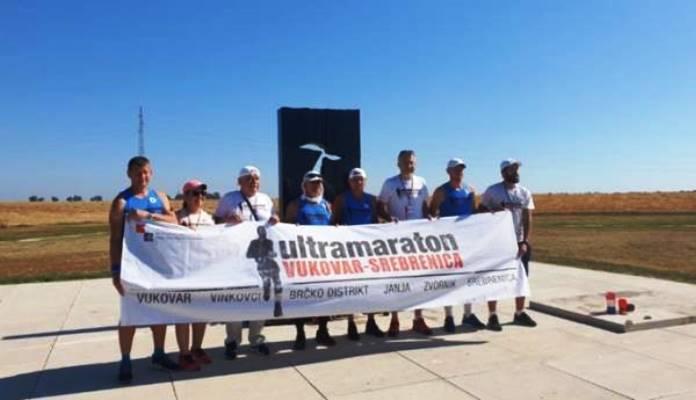 Iz Vukovara krenuo ultramaraton u počast žrtvama genocida u Srebrenici
