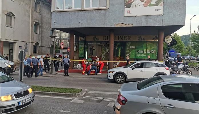 Muškarac zadobio povrede hladnim oružjem nakon incidenta u zeničkom kafiću