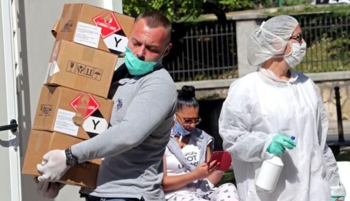 WHO donirala Bosni i Hercegovini 23 tone medicinske opreme