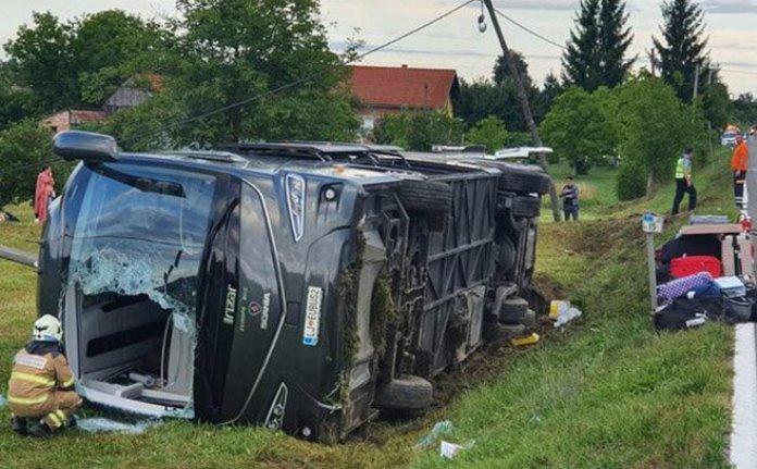 Prevrnuo se autobus sa državljanima BiH