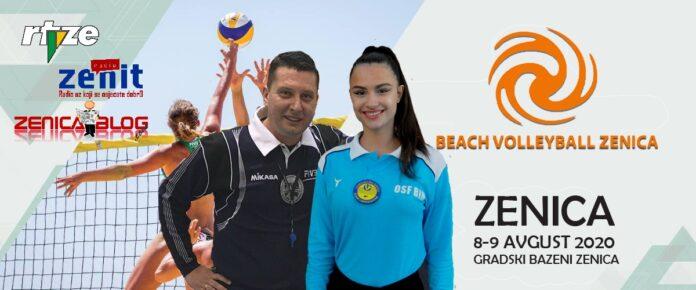 """Najpoznatije sudije u BiH Jasmin Husejnović i Majra Hasanica sude """"Beach Volleyball Zenica"""""""