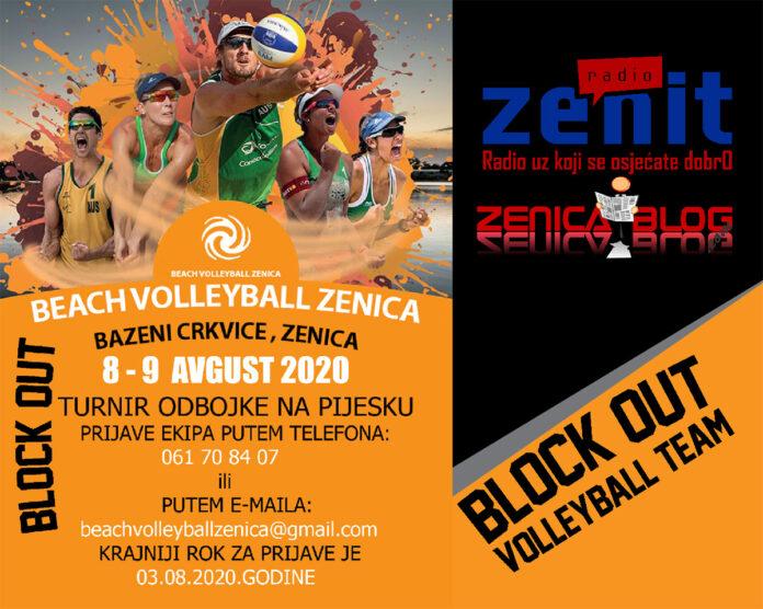 U subotu Beach Volleyball na Gradskim bazenima Zenica