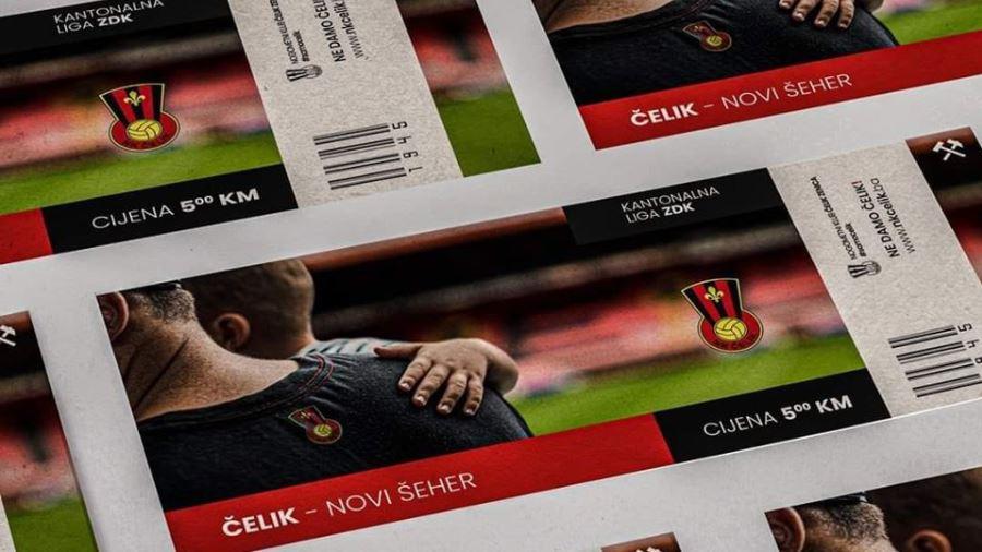 I treći dan kupljeno ukupno 300 ulaznica za utakmicu Čelika kojoj navijači i ne mogu prisustvovati