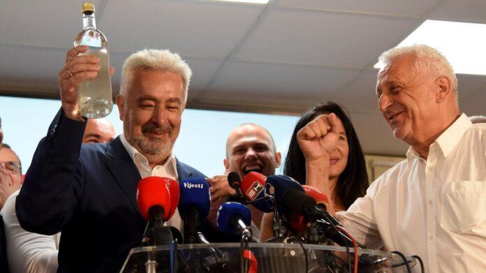 Opozicija u Crnoj Gori proglasila pobjedu i najavila formiranje Vlade