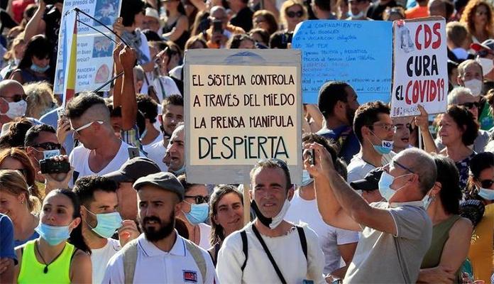 Demonstranti U Madridu