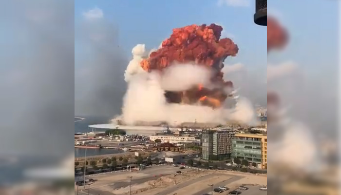 Eksplodiralo skladište eksploziva u Bejrutu (VIDEO)