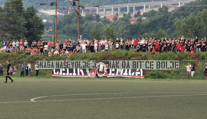 Velika podrška Robijaša na prvoj zvaničnoj utakmici Čelika nakon ispadanja