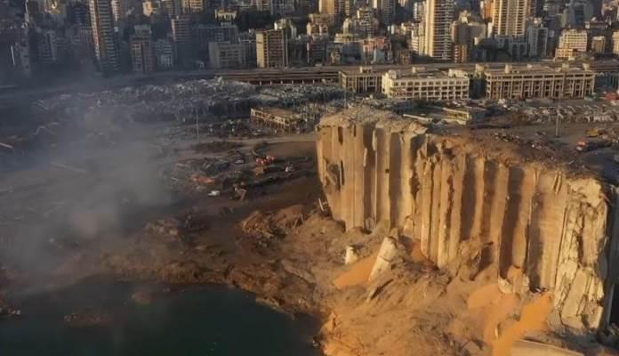 Apokaliptične scene iz zraka: Prvi snimak razorenog Bejruta (VIDEO)