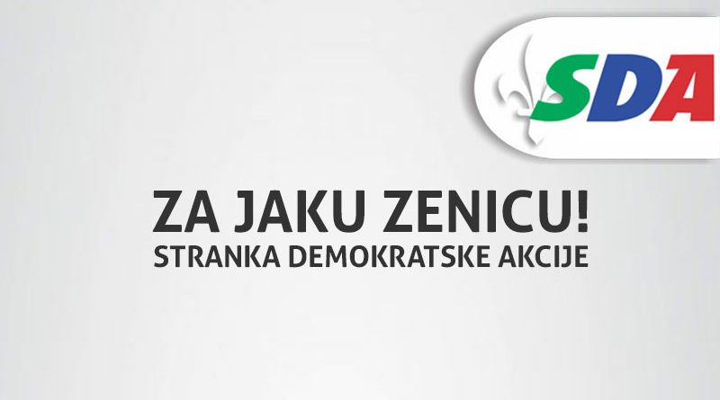 SDA Zenica objavila listu kandidata za Gradsko vijeće Zenice i poziciju Gradonačelnika