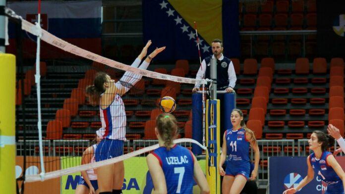Završen prvi dan Evropskog juniorskog prvenstva u odbojci za žene u Zenici