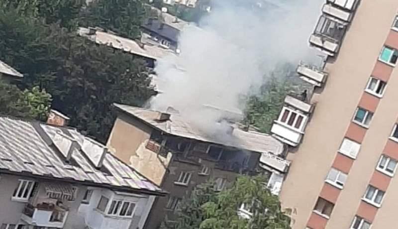 Požar u stanu na Jaliji, povrijeđena jedna osoba (VIDEO)