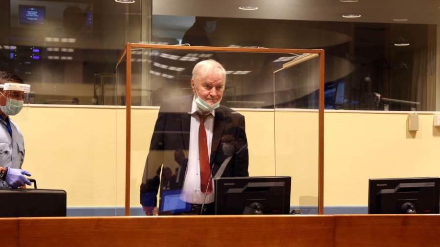 Završeno ročište u Hagu, konačna presuda Mladiću očekuje se naredne godine