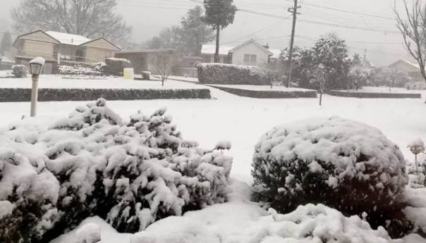 Snijeg pao u Australiji, u pojedinim dijelovima i do metar