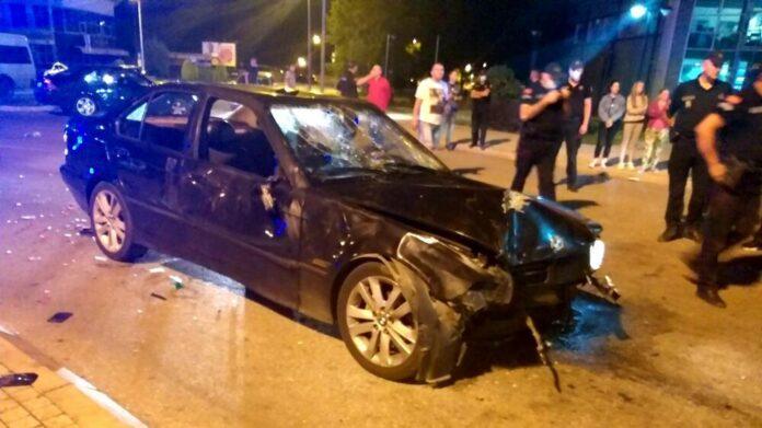 Zaletio se BMW-om u skupinu slavljenika izbora u Crnoj Gori, ima ozlijeđenih