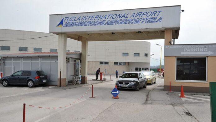 Aerodrom Tuzla uvodi taksu