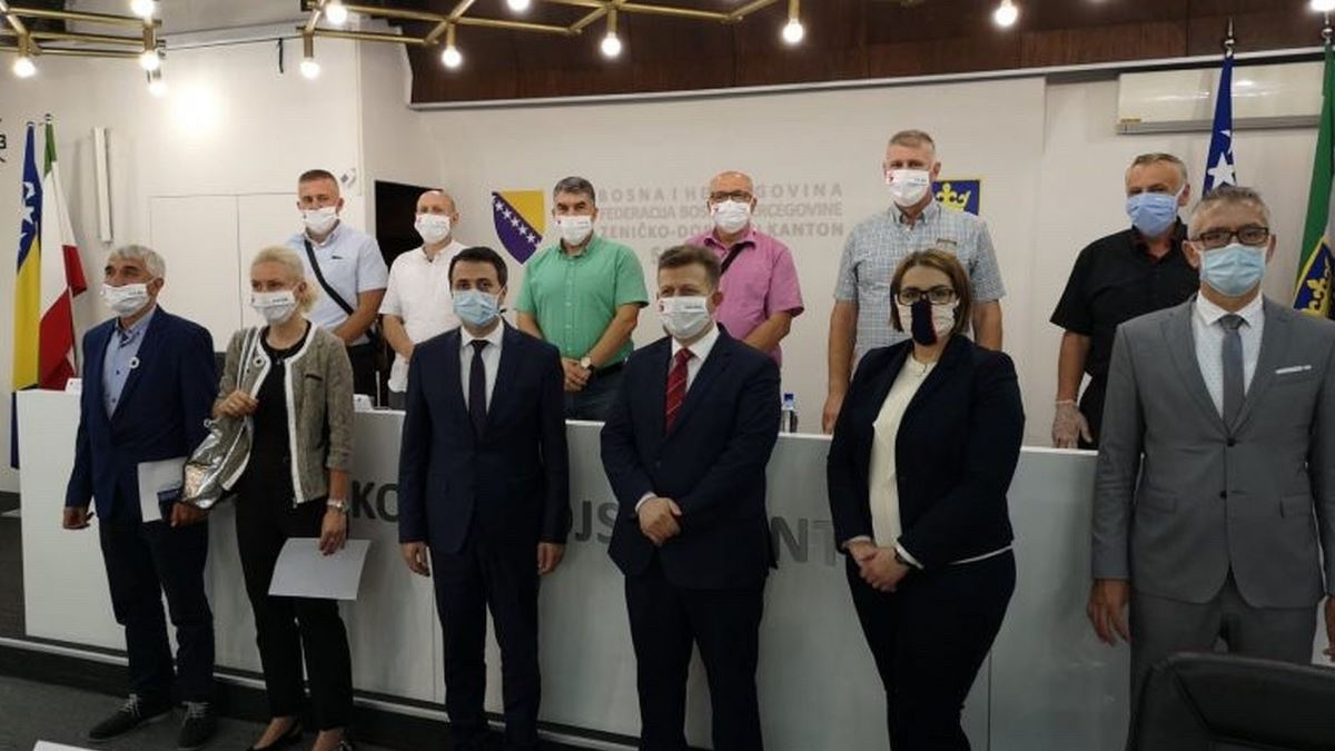 SSS BiH pozdravio interventne mjere Vlade ZDK u borbi protiv pandemije (VIDEO)