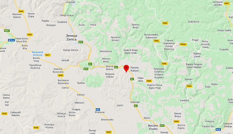 Zemljotres potresao centralnu Bosnu, epicentar kod Kaknja
