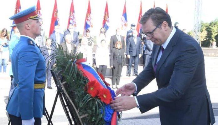 Aleksandar Vučič izjednačio partizane i četnike, poručio da su Srbi jedinstveni