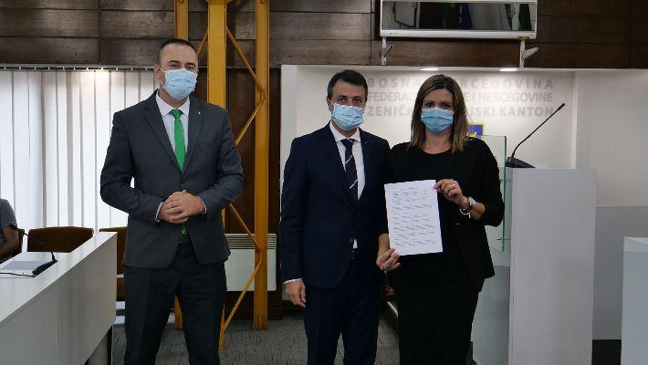 U sjedištu ZDK potpisani ugovori o zapošljavanju 23 demobilisanih boraca