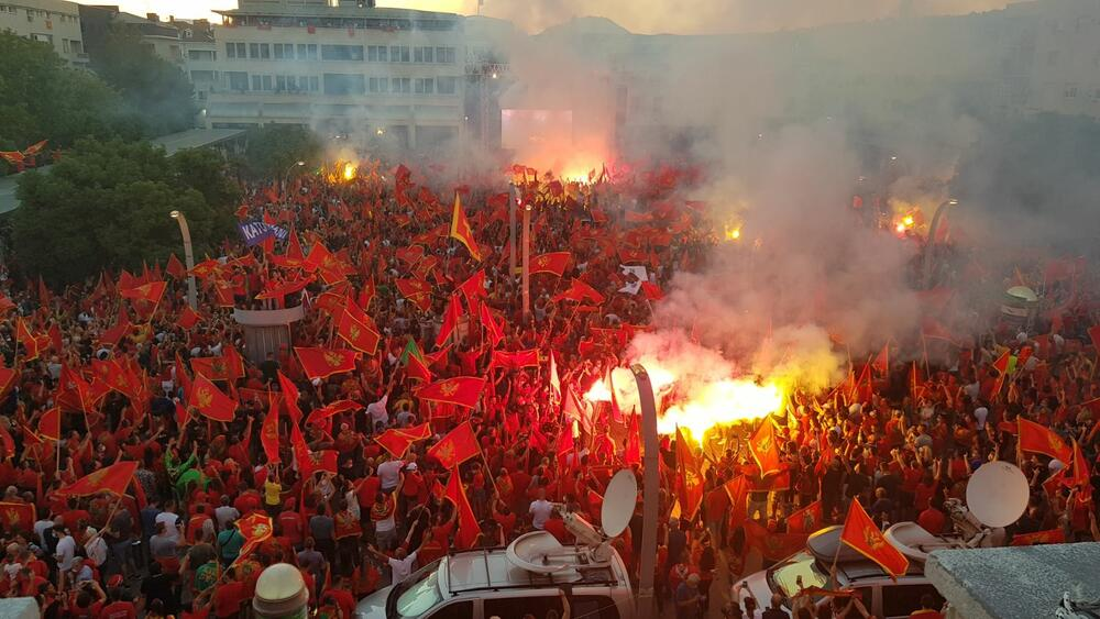 Crna Gora Protesti Podgorica
