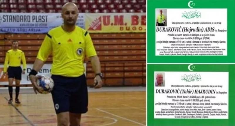 Od koronavirusa preminuli tri muška člana porodice Duraković