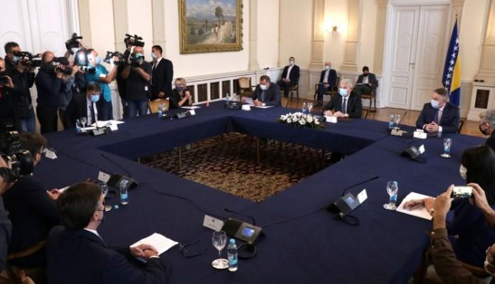 Matthew Palmer susretom u Predsjedništvu počeo posjetu BiH