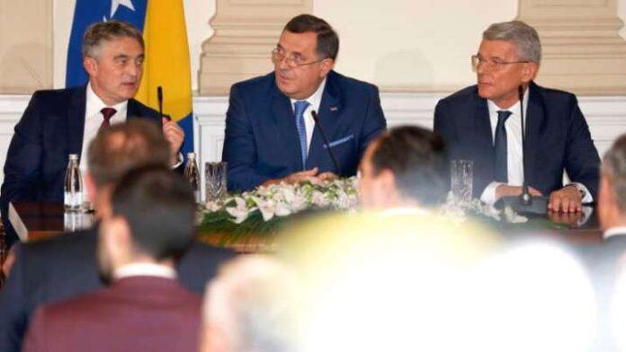 Članovi Predsjedništva BiH u službenoj posjeti Briselu