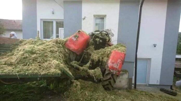 Udario traktorom u kuću, pa poginuo