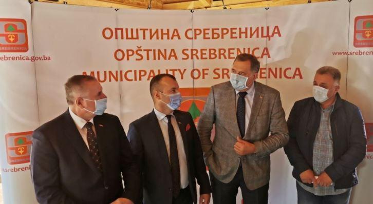 Dodik najavio izgradnju zdravstvenog centra u Srebrenici