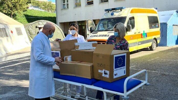 EU donirala ZDK-u monitore za praćenje vitalnih funkcija i zaštitnu opremu