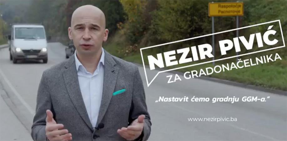 Pivić: Obnovit ćemo puteve i nastaviti izgradnju GGM-a (VIDEO)