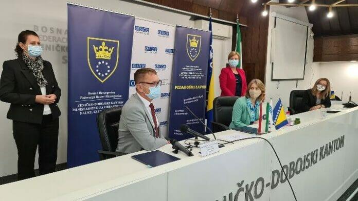 OSCE i Ministarstvo obrazovanja ZDK potpisali memorandum o saradnji