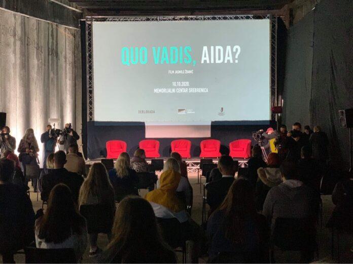 "U Potočarima održana projekcija filma ""Quo vadis, Aida?"""