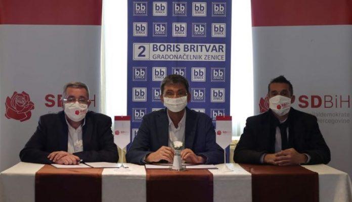 SD BiH Zenica podržao kandidaturu Borisa Britvara za gradonačelnika Zenice