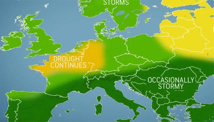 Prognoza zimske sezone u Evropi: Malo snijega i puno oluja