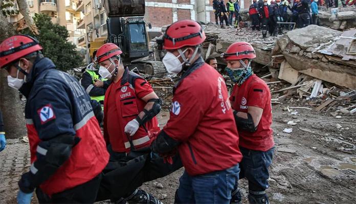 Izmir Zemljotres