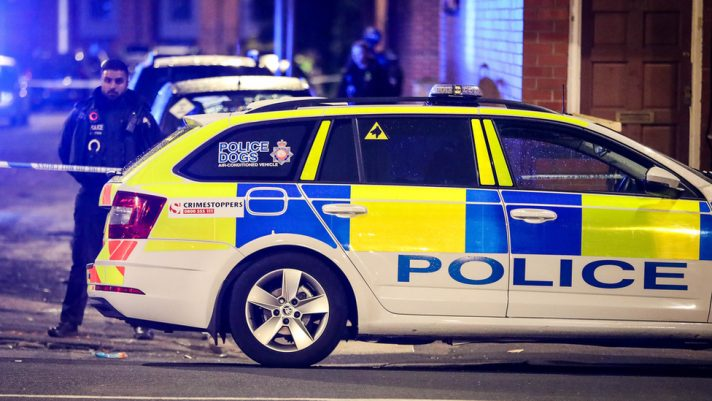 Policija U Engleskoj