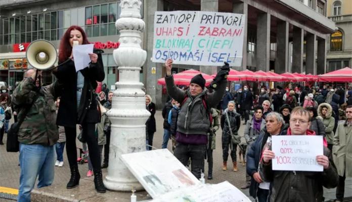 Protest Hrvatska