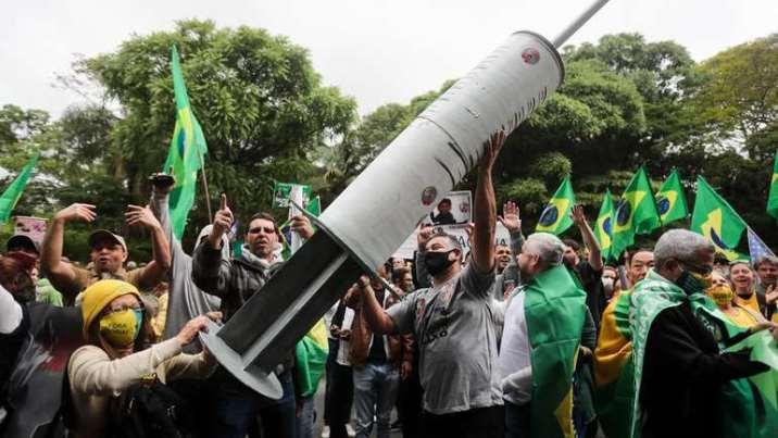 Protest u Brazilu protiv vakcine za COVID-19