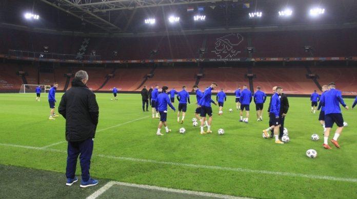 Reprezentativci BiH odradili trening na Johan Cruijff Areni