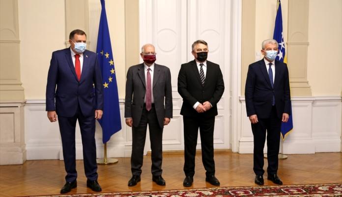 Sastanak članova Predsjedništva Sa Predstavnikom EU