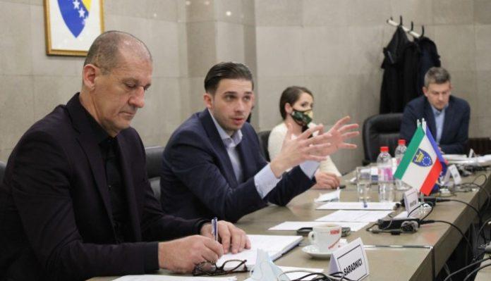 Ministar Isak održao sastanak sa predstavnicima Grada Zenica